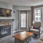 MLK Ski Weekend 2 Bedroom Suite Livingroom View 1