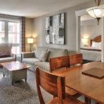 MLK Ski Weekend 2 Bedroom Suite Livingroom View 2