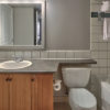 MLK Ski Weekend 2 Bedroom Village Suite Bathroom