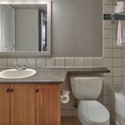 MLK Ski Weekend 2 Bedroom Village Suite Bathroom