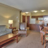 MLK Ski Weekend 3 Bedroom Village Suite livingroom view 2