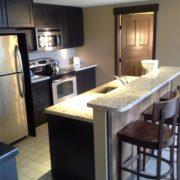 MLK Ski Weekend Mosaic 2 bedroom luxury Townhome kitchen