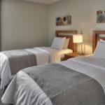 MLK Ski Weekend Mountain Walk 3 bedroom condo twin bedroom