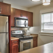 MLK Ski Weekend Rivergrass 2 bedroom villa kitchen room