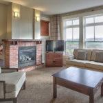 MLK Ski Weekend Rivergrass 2 bedroom villa living room