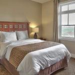 MLK Ski Weekend Rivergrass 2 bedroom villa queen bedroom