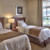 MLK Ski Weekend Rivergrass 2 bedroom villa twin bedroom