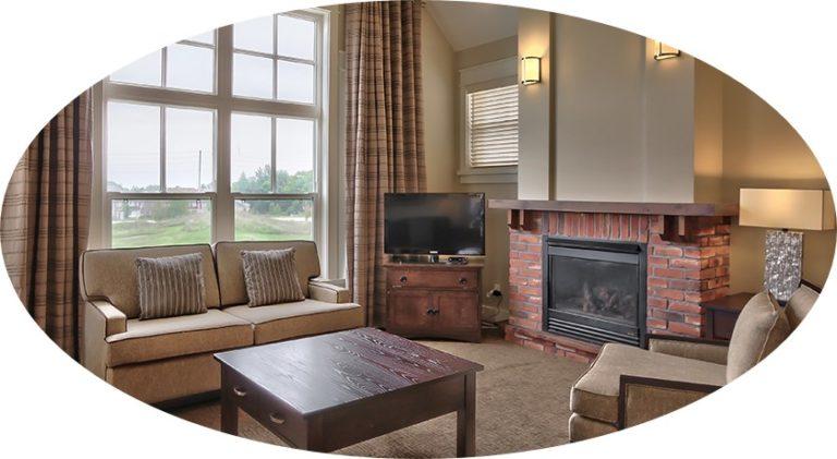 MLK Ski Weekend Rivergrass 3 bedroom villa living room 2 cropped