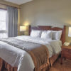 MLK Ski Weekend Village 3 Bedroom Suite queen bedroom