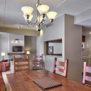 MLK Ski Weekend Wintergreen 3 bedroom condo dining room