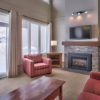 MLK Ski Weekend Wintergreen 3 bedroom condo living room