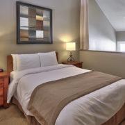 MLK Ski Weekend Wintergreen 3 bedroom condo queen bedroom upstairs