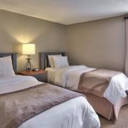 MLK Ski Weekend Wintergreen 3 bedroom condo twin bedroom