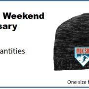 Beanie 2017-20th anniversary MLK Ski Weekend winter hat