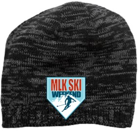 Beanie 2018-20th anniversary souvenir MLK Ski Weekend winter hat