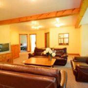 MLK Ski Weekend Black Ski Weekend 10 bedroom executive chalet lower level great room