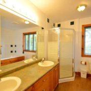 MLK Ski Weekend Black Ski Weekend 10 bedroom executive chalet upper master bedroom bathroom