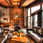MLK Ski Weekend Black Ski Weekend 8 bedroom chalet living room view 1