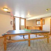 MLK Ski Weekend Black Ski Weekend 8 bedroom chalet lower level rec room ping pong table
