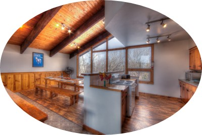 MLK Ski Weekend Black Ski Weekend 8 bedroom chalet upper level view cropped