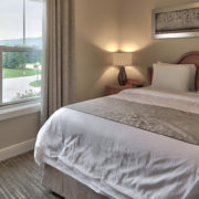 MLK Ski Weekend Black Ski Weekend Snowbridge 4 bedroom villa queen bedroom