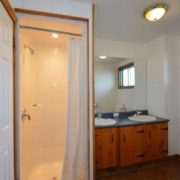 MLK Ski Weekend Black Ski Weekend at Blue Mountain 6 bedroom chalet bathroom 2