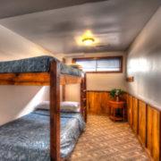 MLK Ski Weekend Black Ski Weekend at Blue Mountain 6 bedroom chalet bunk bedroom lower level