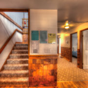 MLK Ski Weekend Black Ski Weekend at Blue Mountain 6 bedroom chalet main level view
