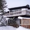 MLK Ski Weekend Black Ski Weekend at Blue Mountain 6 bedroom chalet outside view