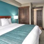 MLK Ski Weekend Mosaic 1 bedroom king bedroom