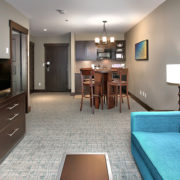 MLK Ski Weekend Mosaic 1 bedroom living room 1
