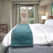 MLK Ski Weekend Mosaic 3 Bedroom suite king bedroom