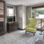 MLK Ski Weekend Mosaic 3 Bedroom suite livingroom view 3