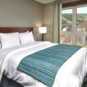 MLK Ski Weekend Mosaic 3 Bedroom suite queen bedroom