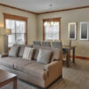 MLK Ski Weekend Snowbridge 3 bedroom luxury Villa living and dining room