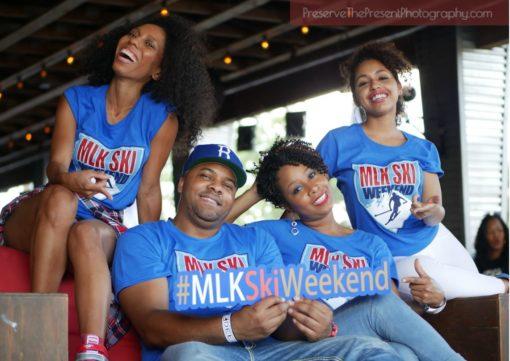 Royal Blue MLK Ski Weekend Souvenir T Shirts group 2