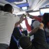 MLK Ski Weekend Black Ski Weekend charter coach party toast to the good life
