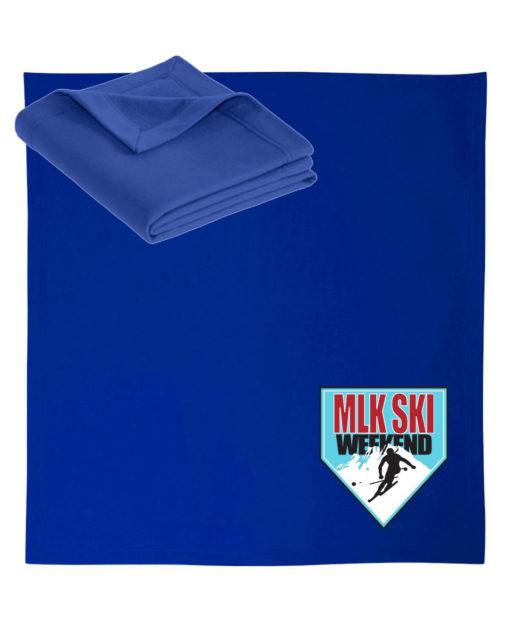 MLK Ski Weekend Blanket 2