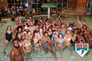 MLK Ski Weekend 2016 group photo of participants at indoor outdoor Splash party at Plunge Party 2.jpg
