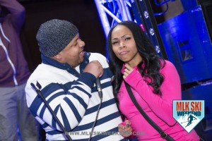 MLK Ski Weekend 2016 guest participation during the Relationship forum Comedy show