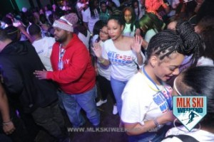 MLK Ski Weekend 2017 Black Ski Weekend D Macon ready to turn up at Glow in the Dark T Shirt Party