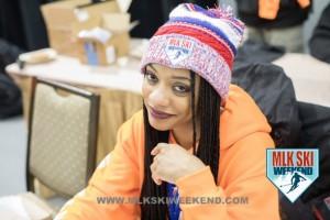 MLK Ski Weekend 2017 Black Ski Weekend Our Own Kris at Registration