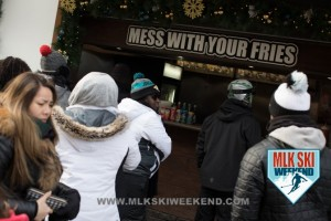 MLK Ski Weekend 2017 Black Ski Weekend Poutiine in Canada in the resort village