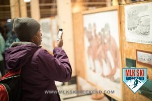MLK Ski Weekend 2017 Black Ski Weekend Sheffield Park Museum private showing