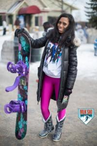 MLK Ski Weekend 2017 Black Ski Weekend black girls snowboard Burton (1)