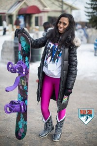 MLK Ski Weekend 2017 Black Ski Weekend black girls snowboard Burton