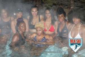 MLK Ski Weekend 2017 Black Ski Weekend sexy hot tub party