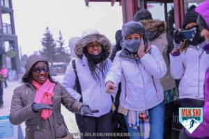 MLK Ski Weekend 2018 Scavenger hunt activity