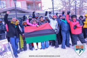 MLK Ski Weekend 2018 village day party cultural experience