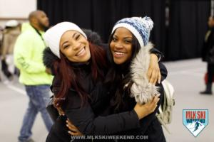 MLK Ski Weekend is a great time to party with your bestie